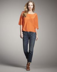 Vince | Blue Mallorca Skinny Ankle Jeans | Lyst
