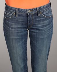 Vince - Blue Mallorca Skinny Ankle Jeans - Lyst