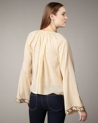 Winter Kate - Natural Embroidered Top - Lyst