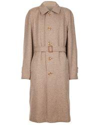 Aquascutum Natural Tweed Coat for men