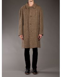Aquascutum Natural Tweed Coat for men