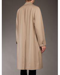 Burberry Prorsum Natural Wool Coat for men