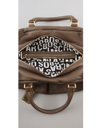 Marc By Marc Jacobs - Brown Classic Q Groove Satchel - Lyst