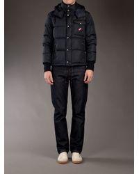 Moncler Blue Alban Jacket for men