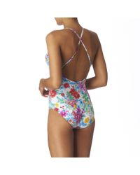 Seafolly White Covent Garden Swimsuit