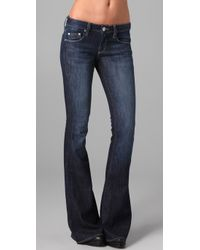 William Rast | Blue Ryley Flare Jean | Lyst