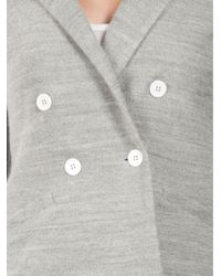 Boy by Band of Outsiders Gray Double Breasted Jacket