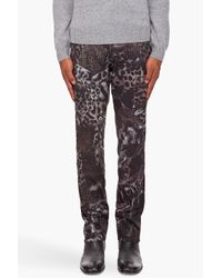 Paul Smith - Multicolor Leopard Print Trousers for Men - Lyst