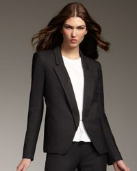 Theyskens' Theory | Gray Suit Jacket | Lyst