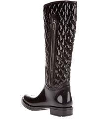 Gianmarco Lorenzi Black Textured Boots