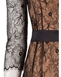 Obakki Brown Lace Dress