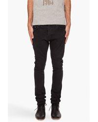 Robert Geller | Slim Black Jeans for Men | Lyst