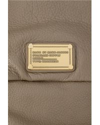 Marc By Marc Jacobs Brown Ukita Textured-leather Shoulder Bag