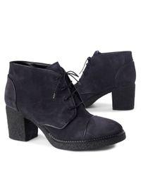 Carvela Kurt Geiger Gray Splice Shoe Boots