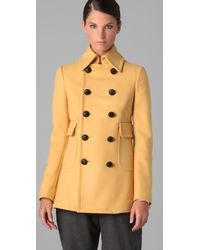 DSquared²   Yellow Shirly Baby Coat   Lyst