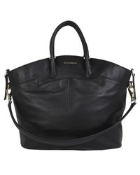 Givenchy - Large Black Leather Tote Bag - Lyst