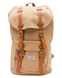 Herschel Supply Co. Green Little American Backpack for men
