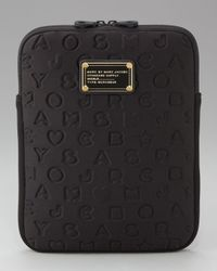 Marc By Marc Jacobs Pink Stardust Ipad Sleeve