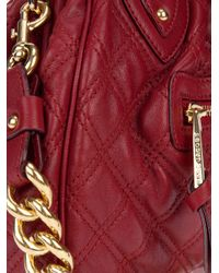Marc Jacobs Red Mini Stam Bag