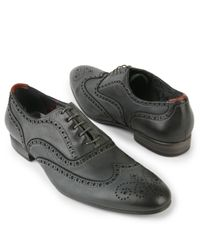 Paul Smith Gray Miller Brogue Shoes for men