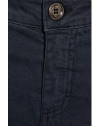 Daks Blue High-rise Straight-leg Jeans