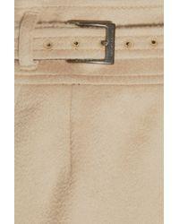 Daks Natural Cashmere-felt Skirt