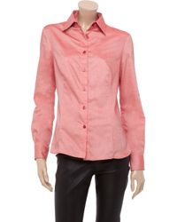 Daks Pink Chambray Shirt