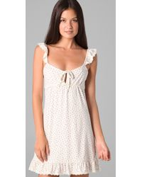 Juicy Couture - Natural Vintage Bud Print Chemise - Lyst