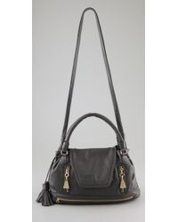 See By Chloé | Gray Cherry Medium Convertible Satchel | Lyst