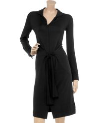 Daks Black Stretch-jersey Dress