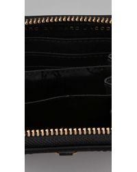 Marc By Marc Jacobs   Black Preppy Nylon Mini Zip Around   Lyst