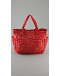 Marc By Marc Jacobs | Red Pretty Nylon Eliz-a-baby Bag | Lyst