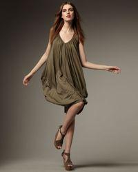 RLX Ralph Lauren | Green Pima Jersey Beach Dress | Lyst