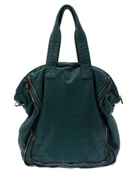 Alexander Wang | Green Trudy Zip Detail Tote Bag | Lyst