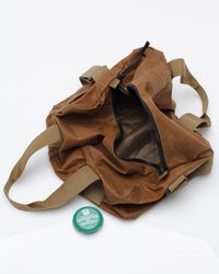 Filson | Brown Tin Cloth Small Duffle for Men | Lyst