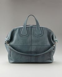 Givenchy | Blue Nightingale Satchel, Teal | Lyst