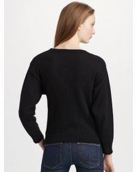 Marc By Marc Jacobs | Black Quad Sweater | Lyst