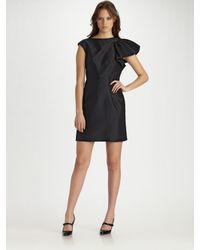 MILLY | Black Fiona Cocktail Dress | Lyst