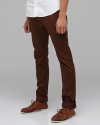 Rogue Territory | Brown Need Supply Co X Trousers In Nutmeg for Men | Lyst