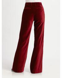 Steven Alan | Red Francis Pleated Dress Pants | Lyst
