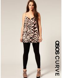 ASOS Collection | Black Asos Curve Full Length Leggings | Lyst
