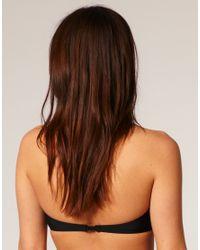 ASOS Collection - Black Asos Mix & Match V Wire Bandeau Bikini Top - Lyst