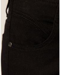 ASOS Collection | Black Asos Petite Cotton Skinny Twill Capri Trousers | Lyst