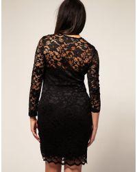 ASOS Collection - White Asos Curve Exclusive Katie Lace Dress - Lyst