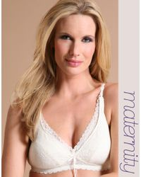 Elle Macpherson - White Intimates Maternity La Mere Nursing Bra - Lyst