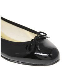 French Sole | Black India Patent Ballet Shoes | Lyst