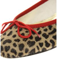 French Sole | Multicolor India Leopard Pony Ballet Shoes | Lyst