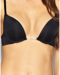 Ultimo - Black Miracle A D Frontless Plunge Bra - Lyst
