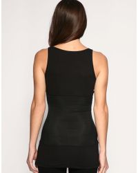 Yummie By Heather Thomson - Black Control Undercover Long Line Camisole - Lyst