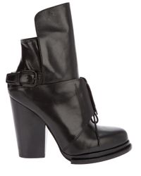 Alexander Wang Black Leonie Ankle Boot